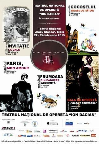 Turneul National, 22-24 februarie Teatrul National