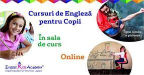 English Kids Academy, prezent in toata Romania: cursurile de engleza online pentru copii de oriunde din tara