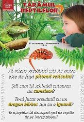 Expozitie de reptile vii la Liberty Center