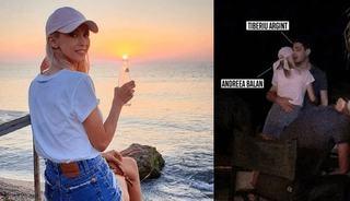 Andreea Balan iubeste din nou! Cine este barbatul cu care a fost surprinsa sarutandu-se la mare