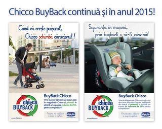 Programul Chicco BuyBack continua si in anul 2015