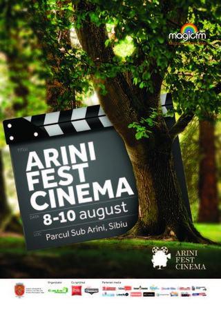 Parcul Sub Arini se anima intre 8-10 august cu ocazia Arini Fest Cinema