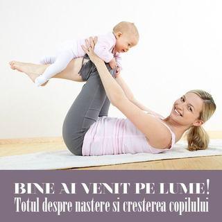 Bine ai venit pe lume, workshop-ul care te invata totul despre bebelusul tau
