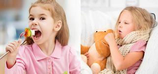 Virozele respiratorii la copii: cum le prevenim prin alimentatie