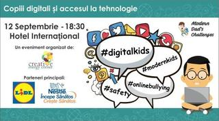 Modern Dads Challenges, editia 9: Copiii digitali si accesul la tehnologie