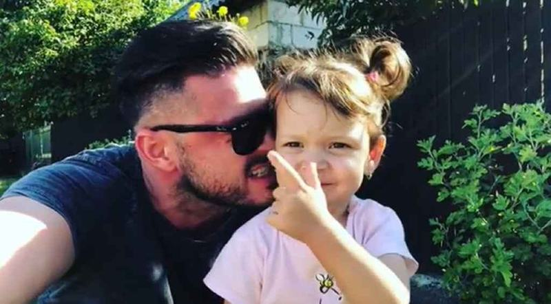Victor Slav, despre fiica sa, Sofia: