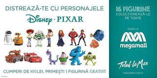 Figurinele Disney/Pixar ne invita in universul copilariei la Mega Mall