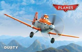 Faceti cunostinta cu Dusty, personajul principal din Planes