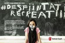 Salvati Copiii Romania lanseaza campania Opriti bullying-ul sau desfiintati recreatiile!