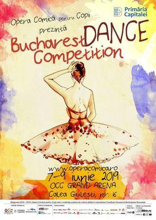 Opera Comica pentru Copii organizeaza prima editie a concursului Bucharest Dance Competition