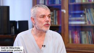 """Pediatrul Mihai Craiu: """"Copiii au avut in corpul lor cel putin una, doua, trei infectii cu coronavirusuri"""""""