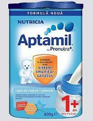 Noua formula Nutricia Aptamil de la 1an+
