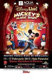 Mickey's Magic Show adauga o noua reprezentatie seriei de spectacole de la Sala Palatului!