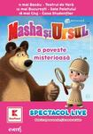 Indragitele personaje Masha si Ursul se intorc in Romania cu un nou spectacol in luna mai