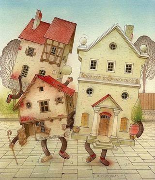 Atelier de Arhitectura pentru copii - Case cu povesti (7 - 12 ani)