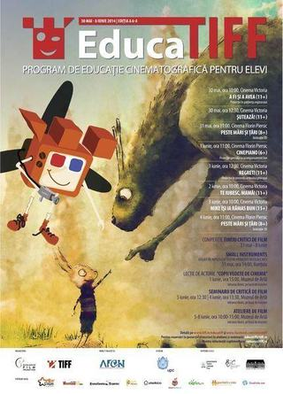 EducaTIFF 2014, filme premiate, seminarii de critica si ateliere de animatie pentru copii