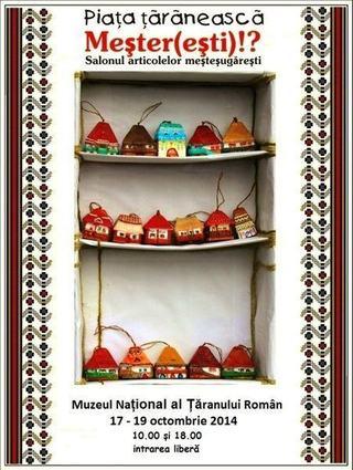 Targ Taranesc de toamna la Muzeul National al Taranului Roman