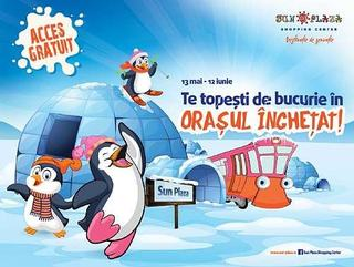 Vino in Sun Plaza sa te topesti de bucurie in Orasul Inghetat