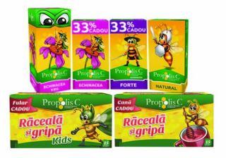 Castiga in mod natural lupta impotriva racelii si gripei cu Propolis C Raceala si Gripa!