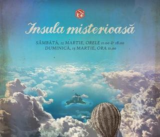Spectacolul Insula misterioasa revine la Teatrul Ion Creanga