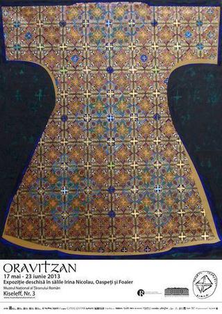 Expozitia Oravitzan, Muzeul National al Taranului Roman