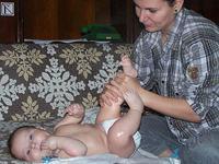 Masajul pentru bebelusi, cazuri speciale