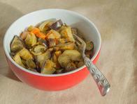 Mancarica de cartofi cu dovlecei