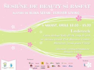 Sesiune de beauty, sezatoare despre sistemele MLM si alte evenimente pentru mamici in perioada 4-6 august