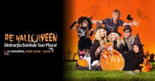 De Halloween, nu rata distractia care bantuie Sun Plaza