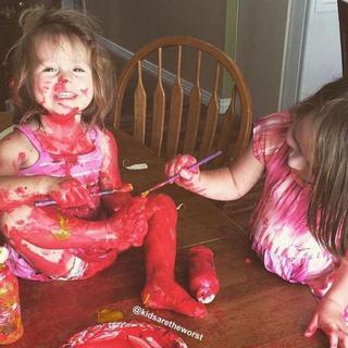 Imagini care demonstreaza cat de distractivi pot fi copiii