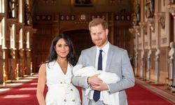 O noua fotografie cu fiul lui Meghan Markle si al printului Harry