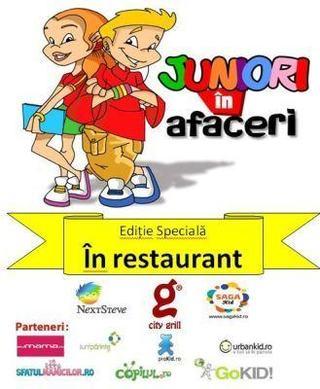 Juniori in restaurant, 23 noiembrie