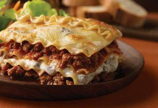 Lasagna cu carne si ciuperci