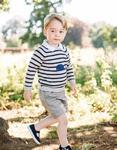 Fotografii adorabile cu printul George, cu ocazia zilei sale de nastere