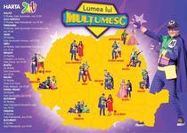 Gasca Zurli anunta lansarea Turneului National LUMEA LUI MULTUMESC