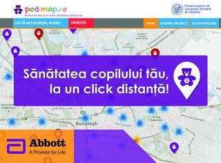 Pedimap.ro - Drumul cel mai scurt catre sanatatea copilului tau!
