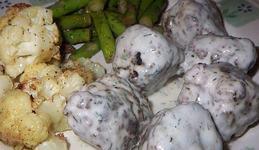 Chiftele cu sos de marar