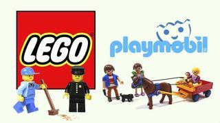 Lego versus Playmobil. Care dintre cei doi rivali castiga batalia pentru suprematie