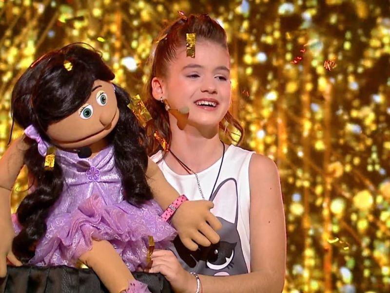 """Cine este Ana-Maria Margean, micuta cu voce de aur de la """"Romanii au talent"""""""