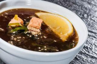 Supa de somon cu lamaie