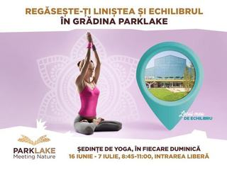 Vara incepe cu sport, la ParkLake Shopping Center! Yoga, padel si un stil de viata sanatos