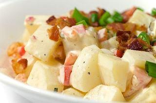 Salata de cartofi de primavara