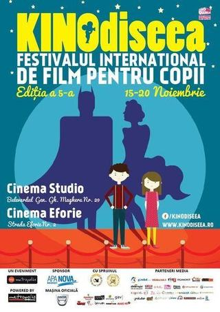 Maestrul Victor Rebengiuc se intalneste cu copiii in cadrul festivalului de film KINOdiseea