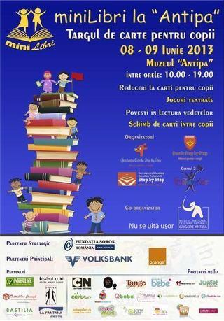 Targul de carte pentru copii miniLibri! Spectacolul cartii pentru copii!