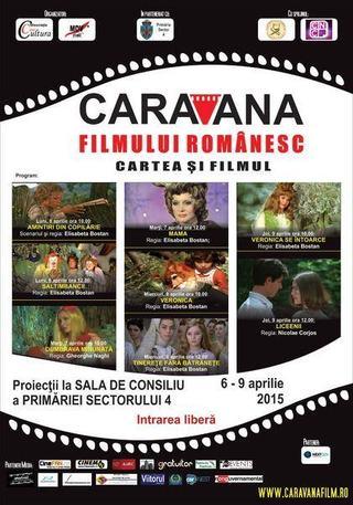 Caravana filmului romanesc, 6-9 aprilie 2015
