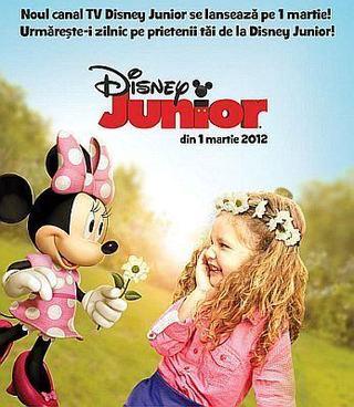 Disney Junior se lanseaza in Romania
