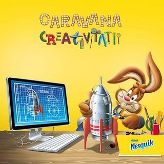 NESQUIK te invita la Caravana Creativitatii