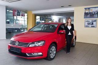 Carmen a castigat un Volkswagen Passat la promotie Milupa!