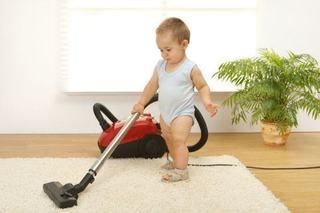 Sarcini de curatenie in functie de varsta copilului