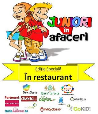 Juniori in afaceri, Editie Speciala: Ospatari in restaurantul Caru' cu Bere